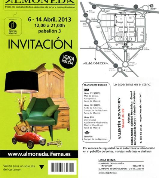 Invitacion almoneda-madrid