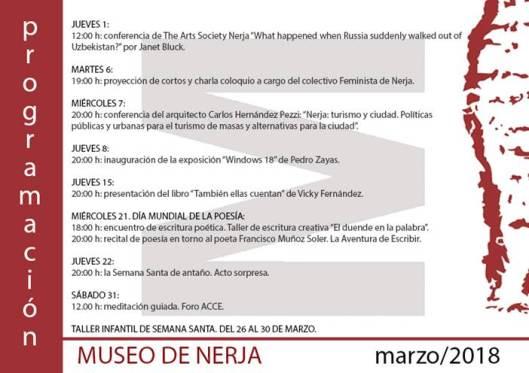 Museo de Nerja Marzo 2018