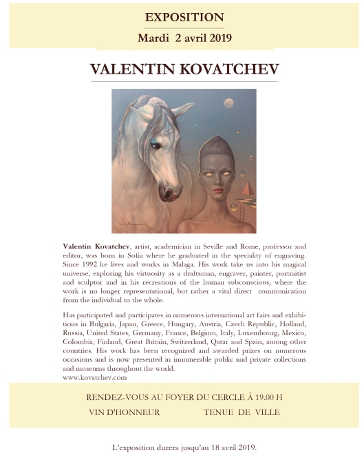 Valentin KOVATCHEV 2 avril 2019 - 01